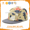Fashion Design 100% Cotton Blank Wholesale Custom 5 Panel Hats