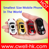 NEWMIND F1 MINI Car Shaped Very Small Size Mobile Phones worlds smallest mobile phone