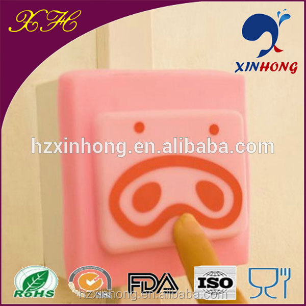 2014 Hot Sale Cute Cartoon Push Button Protective Cover KGT-01