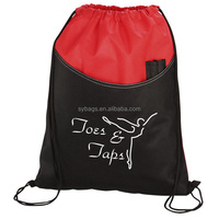 new season pisces pocket drawstring bag / professional manufacture drawstring bag / athletic sport drawstring bag
