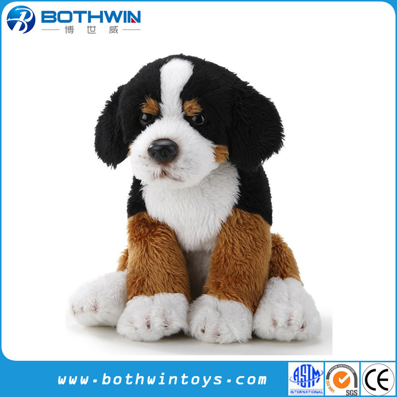 Custom Bernese Mountain Dog Beanbag Plush Stuffed Toy