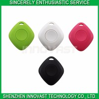 2016 Alibaba AU Mini Small iTag GPS Tracking Location Bluetooth Phone Keychain Anti-loss Alarm With Free App