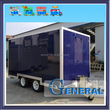 mobile hot dog ice cream cart,food concession trailer for sale
