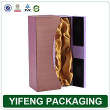 Wholesale Price Elegant Customized leather wine carrier Wine Box