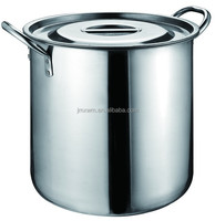 S/S Soup Boiler W/lid Stainless Steel Stock Pot with Tube Handle