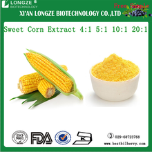 Natural Spray dried Sweet Corn Extract Powder/Zea mays L. Extract 4:1 5:1 10:1 20:1