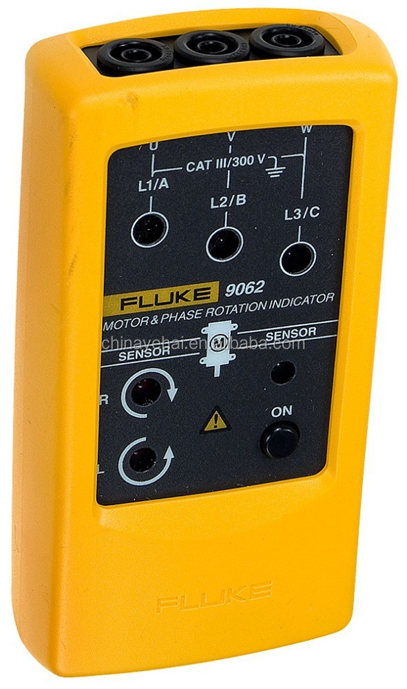 Non-contact Three Phase Motors Rotation Indication Tester FLUKE-9062