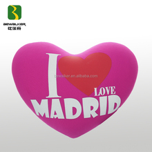 Promotional Heart Shape Home Textile Cushion
