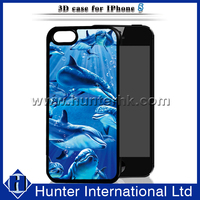 Summer Cute Dolphin Hard PC Case For iPhone5