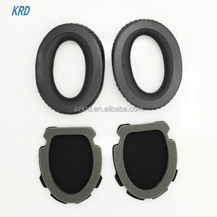 New Black Replacement Ear Pads Cushion Earpads Ear Cups For Bose Aviation Headset X A10 A 10