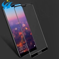 2019 newest factory direct sales 3d 9h hd 0.18mm 0.33mm toughened tempered glasses for huawei p20 lite p20 pro