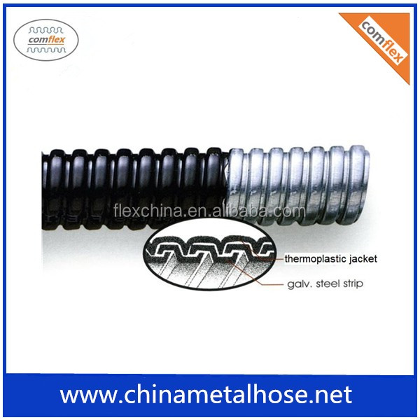 high quality stainless steel corrugated metal flexible conduit