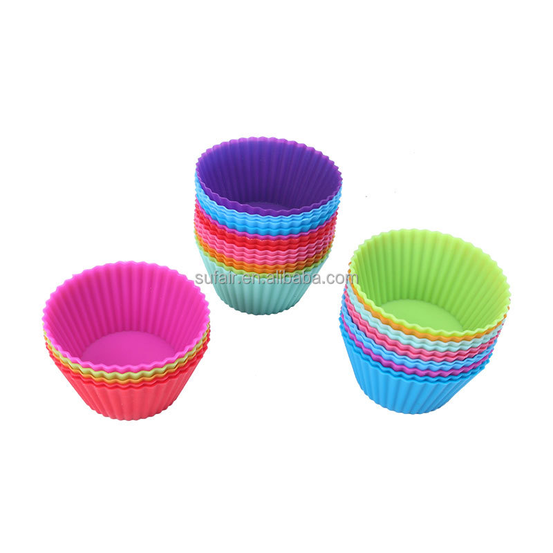 birthday party ball kids muffin dessert baking silicone cup jelly cake mould