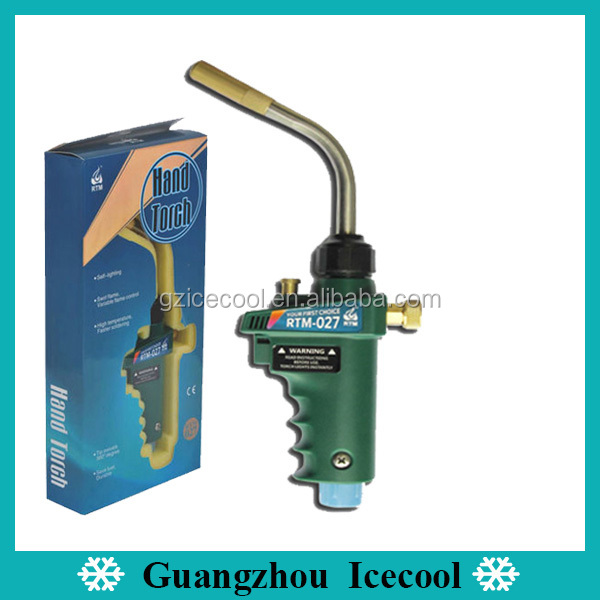 Quick Self Lighting Tip swivels 360 degree welding hand torch RTM 027 for Chemical and Refrigeration
