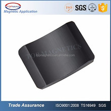 ISO SGS wholesale Permanent Ceramic Ferrite Y30 Y30BH Magnet Tile Electric Motor Magnet