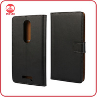 Manufacturer Wholesaler Mobile Phone Stand Book Style Flip Wallet Leather Case for Motorola Moto X Force
