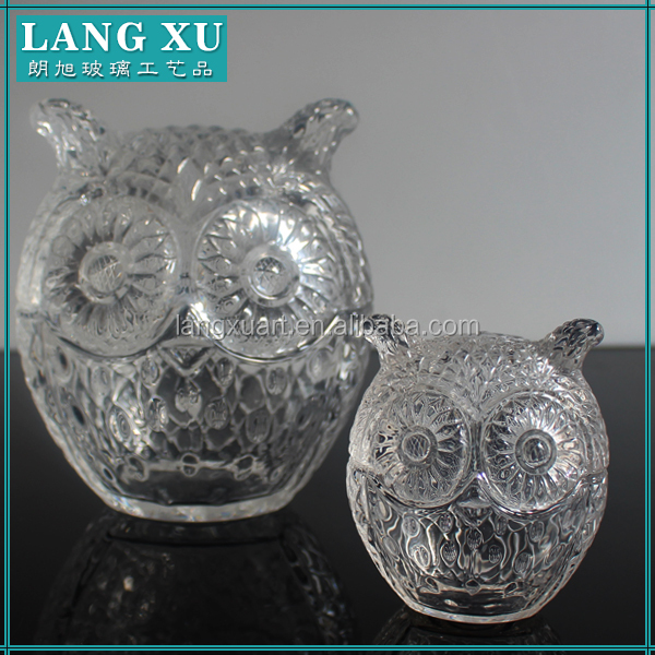 animal shaped glass jars with lids&container