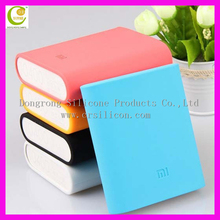 2016 hot sale wholesale cheap various color soft touching feeling power bank silicone cover
