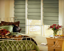 China roman manual system blinds curtain design with good quality