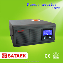12v 220v lcd display dc to ac pure sine wave 1000w inverter