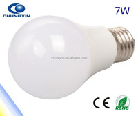 Shenzhen led light hot sale e27 led bulb 7w Epistat SMD2835 led lampada e27 base