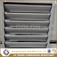 Interior security shutter, exterior adjustable louver components aluminium window plantation shutters from china