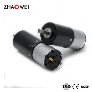 24V High Torque Low Speed Brushless DC Motor With Gearbox