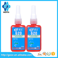 Motin manufacturer glue sale 50 ml 620 648 680/anaerobic retaining adhesive/retaining compound press fit