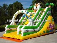 Jungle inflatable slide, colour inflatable games G4023