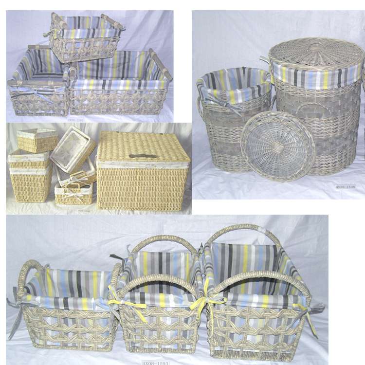Beautiful France Market Willow baskets