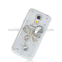 Nice Clear PC & Bling Hard Cover Case For Samsung Galaxy S4 Mini i9190