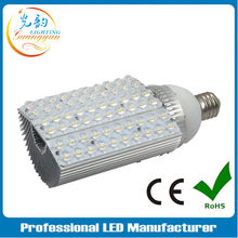 High lumen 42W BridgeLux chip outdoor solar E40 led street bulb light