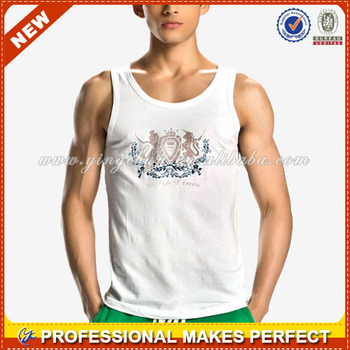 Custom tank top, mens cotton vest, casual gilet(YCT-B0651)