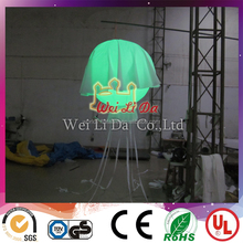 LED light attractive style inflatable decorating jellyfish balloon with good offer