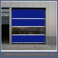 New generation industrial interior roll up doors/high speed interior doors HSD-057