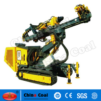 Drilling Machine and Drilling Equipment,drive power head crawler drilling rig.