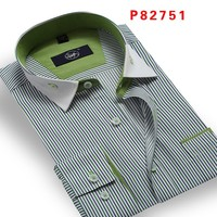 Wholesale new model flannel long sleeve man shirt cotton down shirts with fashion designs S - 4XL