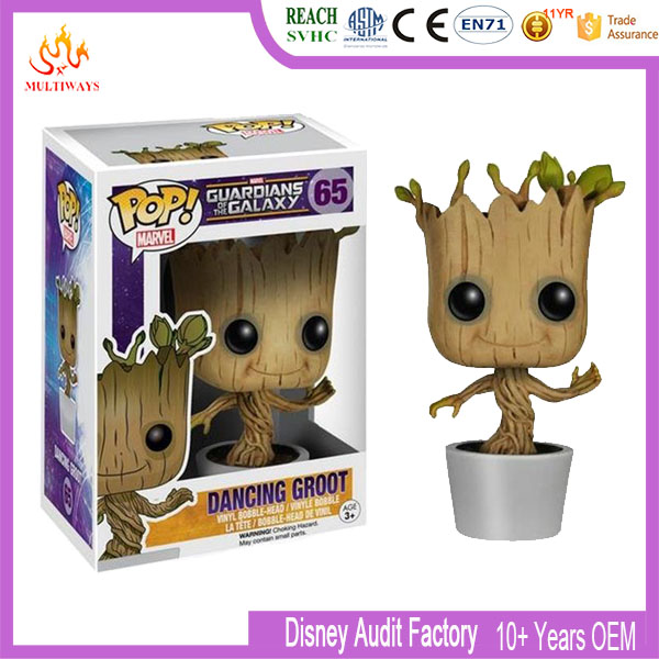 Funko Pop Plastic Groot figure