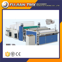 High speed automatic machine manufacturer bathroom tissue paper rewinding machine