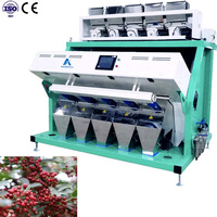 High Intelligent CCD Prickly Ash Sorting Machine/Color Sorter/Separator,Selector