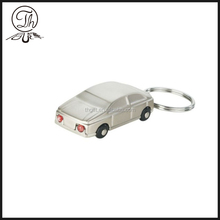 New Small car shaped metal keychain