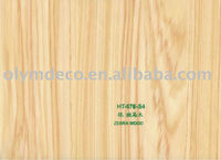 Furniture Decorative Zebra Wood Grain Paper