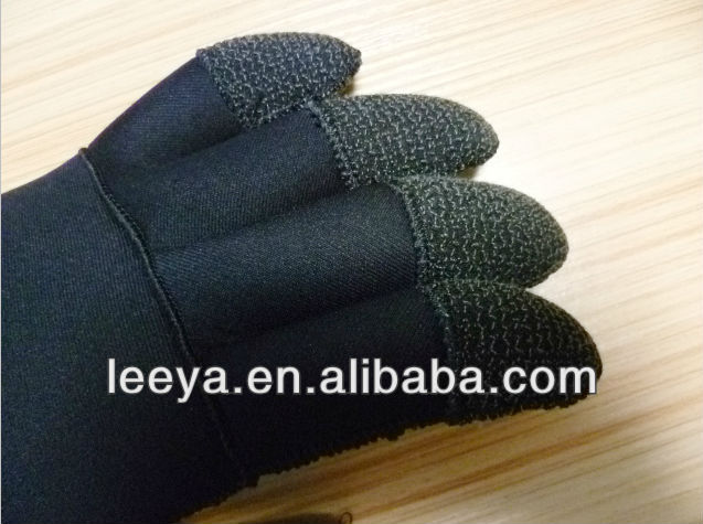 finger kevlar neoprene commercial diving gloves