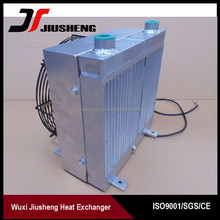 Cheap price and high quality Air To Water Heat Exchanger With Fan