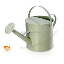 Gialvanized Steel Watering Can Marketing /hand painted watering cans Garden Supplies