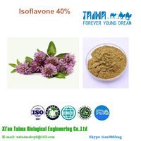 Xi`an Taima hot selling Supply High Quality Red Clover Extract 8% isoflavones