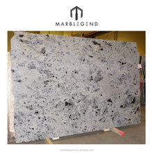 PFM high quality natural stone slab labradorite white granite