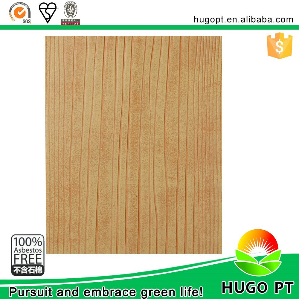 Heat Insulating Free Asbestos Walnut Wood Smart Board Siding