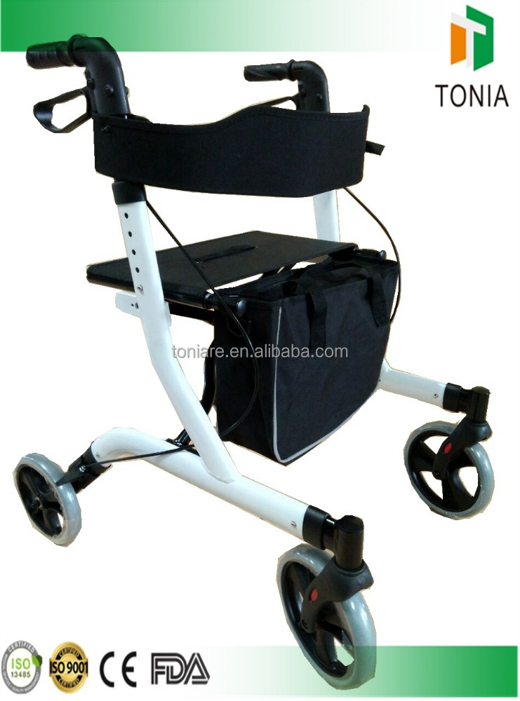 2016 New design folding rollator home care product health care product