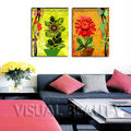 Abstract Wall Artwork Beautiful Flower Painting Picture Printed on Canvas for Living Room